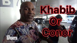 Mike Tyson Said He Will Watch Khabib vs Conor Mcgregor Fight | Khabib Nurmagomdov vs Conor Mcgregor