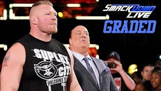 WWE SmackDown Live: GRADED (17 Sep) | Brock Lesnar Returns To Challenge Kofi Kingston