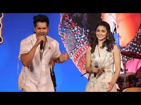 Varun Dhawan and Alia Bhatt  Watch Sukhwinder Singh And Anmol Malik Performance