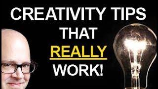 Learn to be more CREATIVE! (10 Magic Creativity Tips!)