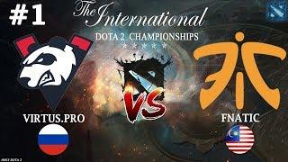 ВАЖНЕЙШИЙ МАТЧ ДЛЯ ВП! | Virtus.Pro vs Fnatic #1 The International 2019