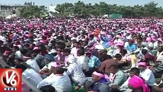 Banjaras Hold 'Lambadi Shankaravam' Meeting At Saroornagar Stadium In Hyderabad