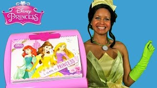 Disney Princess 5 in 1 Activity Easel with Princess Tiana !    Disney Toy Reviews    Konas2002
