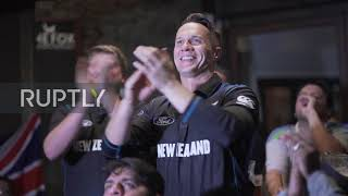 New Zealand: Fans gather in Auckland bar to watch Cricket World Cup Final