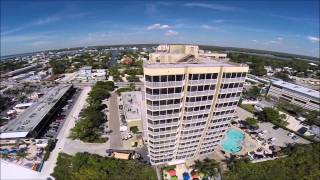 Drone Over Fort Myers Beach, Fl