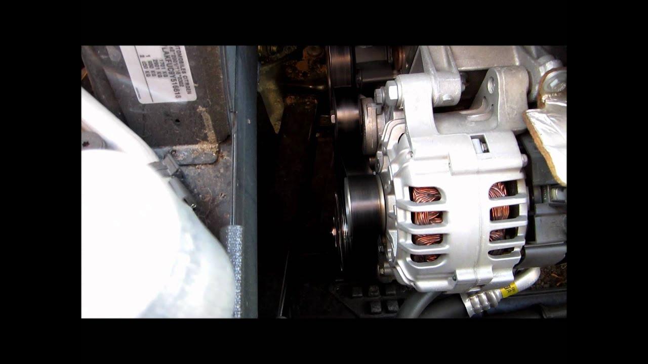 Ruido En Motor C4 Rodillo Tensor O Alternador Youtube