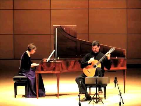 Diabelli- Sonata fortepiano & Guitar -Robert_Trent_DuoFirenze.Pamela_Trent.mov