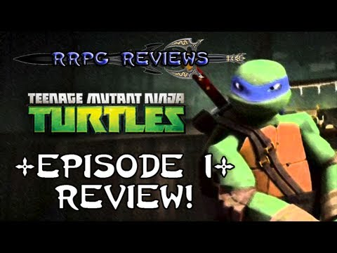 RRPG Reviews: Teenage Mutant Ninja Turtles (2012 Series) - Rise of the Turtles - Part One (RRPG Review)