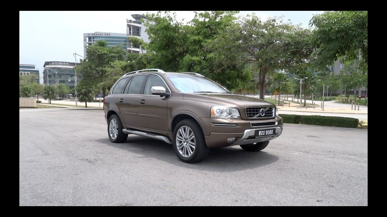 2013 volvo xc90 t5 awd executive start up full vehicle. Black Bedroom Furniture Sets. Home Design Ideas
