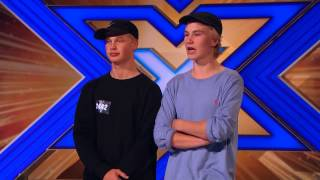 "DK X Factor 2015 Audition (Citybois) - Bill Withers ""Ain"