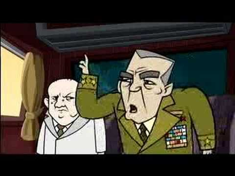 Hammer and Tickle - Cartoon in the Train Video