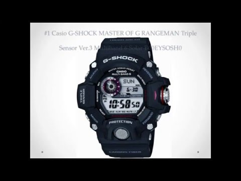 Top 10 Best Casio Watch Reviews G Shock Black Watches for Men
