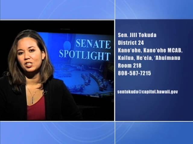 Senate Spotlight Featuring Senator Jill Tokuda