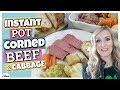 INSTANT POT CORNED BEEF and CABBAGE || St. Patrick's Day Dinner