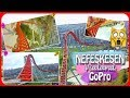 Vialand Nefeskesen Roller Coaster Hız Treni GoPro Aksiyon Kamera Çekimi