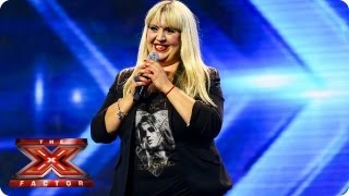 Shelley Smith Sings Feeling Good By Nina Simone Arena Auditions Week 2 The X Factor 2013