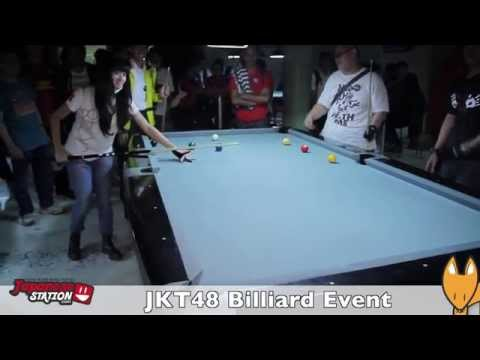[SPESIAL] Serunya bermain Billiard bersama member JKT48