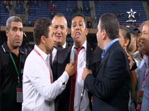 Maroc Mozambique 4-0 : Déclarations Rachid Taoussi (رشيد الطاوسي)