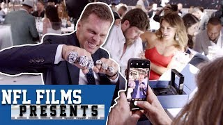 The Patriots Celebrate Their 6th Super Bowl Ring! | NFL Films Presents