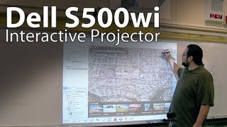 Tech Review_ Dell S500wi Interactive Projector