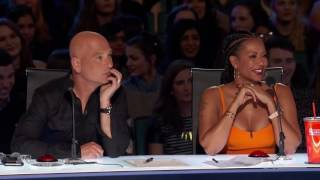 Richie the Barber Circus Clown   Auditions Week 5   America's Got Talent 2016 Full Auditions