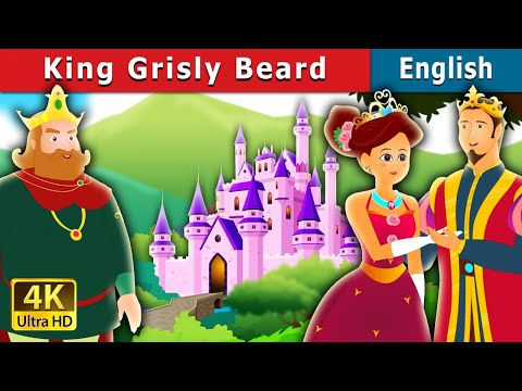 The King Grisly Beard Story in English | English Story | Bedtime Stories | English Fairy Tales
