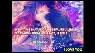 Best heart-touching romantic whatsapp relationship/love status video - 125 (Anime gif background)