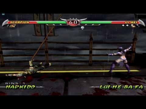 Mortal Kombat Deception Gameplay (Dolphin EMU)