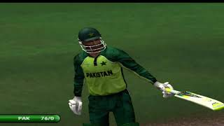 Pak vs ind cricket match imran nazir century world record