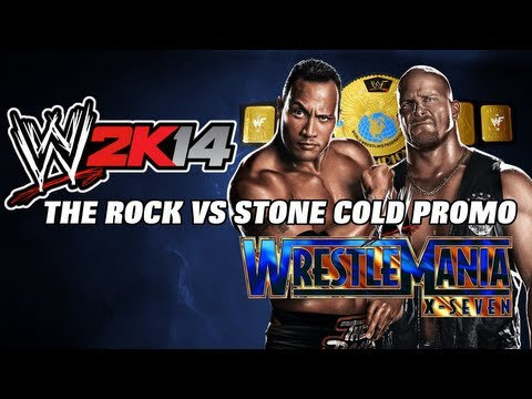 Wwe2k14 Rock Vs Stone Cold (wrestlemania 17 Promo) video
