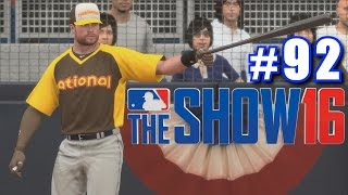 HOME RUN DERBY! | MLB The Show 16 | Road to the Show #92