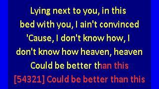 Download Lagu Kane Brown -  Heaven (karaoke)  piano version Gratis STAFABAND