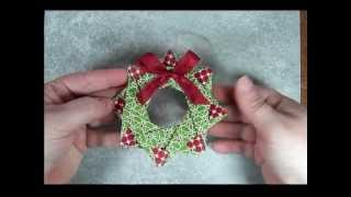 Star Wreath Origami Ornament