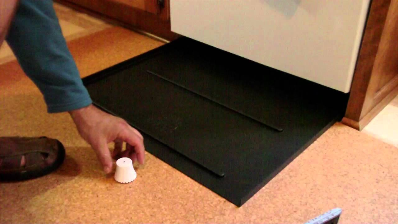 How To Plan And Place Your Dishwasher Leak Pan Youtube
