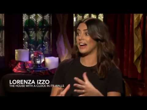 Lorenza Izzo Talks The House With A Clock On Its Walls