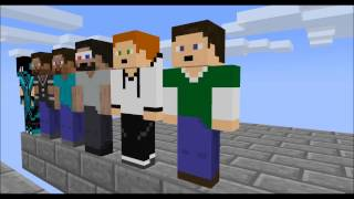 [Minecraft animation] Minecraft player School - Parkour