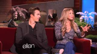 Julianne Hough and Kenny Wormald Talk 'Footloose'