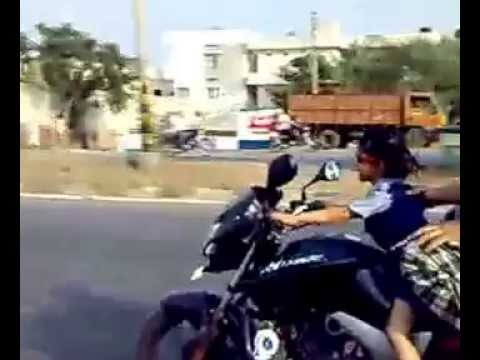 LKG Girl riding a bike