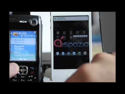 iSpazio Review. How to use Airblue sharing. Scambio file iPhone N70   Cydia Parte 3