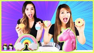 Guess the Bath Bomb Toy Surprise Challenge with Princess T vs Princess Pham
