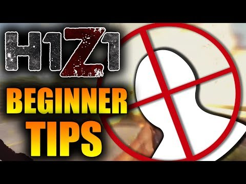 5 BEST TIPS TO GET BETTER AT H1Z1! H1Z1 Beginner Tips Guide! (KOTK BEST TIPS)