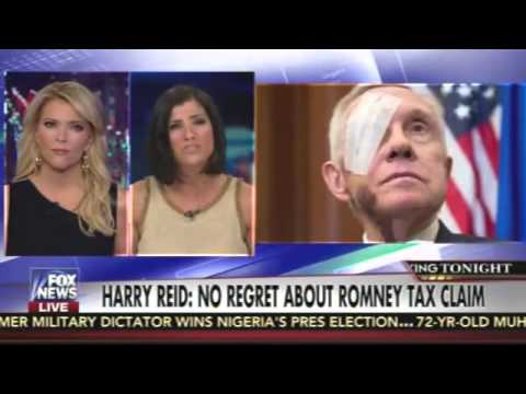 Megyn Kelly Blasts Harry Reid For Saying He Has No Regrets About False Tax Claims About Romney