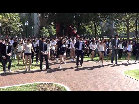 University of Pennsylvania: Flash Mob - GANGNAM STYLE