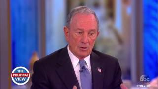 Michael Bloomberg On Trump