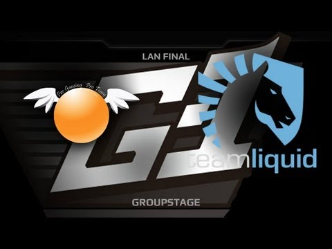 G1 League LAN Final  Groupstage  Orange vs Liquid