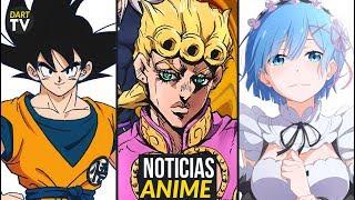 Película de Dragon Ball de 2019 fecha LATINOAMÉRICA, Jojos anime de Vento Aureo, Re:Zero en OCTUBRE