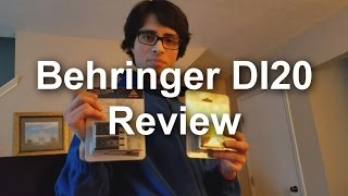 Gear Review #8 - Behringer DI20