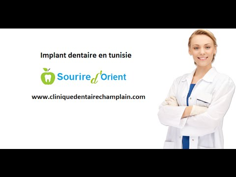 la pose d'implant dentaire en tunisie: meilleure solution