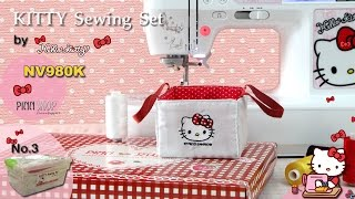 KITTY Sewing Set No.3_PINN SHOP