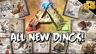 ARK - SCORCHED EARTH ALL NEW DINOS AND CREATURES! (Death Worm, Rock Elemental, Wyvern & More)